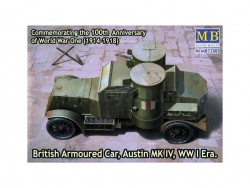 72008  Austin Mk.IV British armored car, 1914-1918