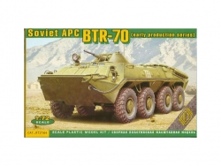 72164  BTR-70 Soviet armored personnel carrier, early prod.