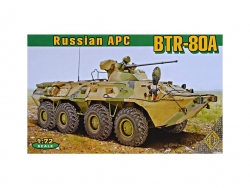 72172  BTR-80A Soviet armored personnel carrier