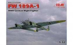 72293       FW 189A-1, WWII German Night Fighter
