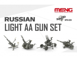 SPS-026 1/35 RUSSIAN LIGHT AA GUN SET