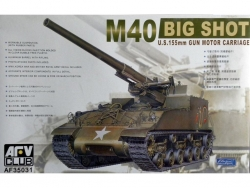 AF35031 M40 SELF-PROPELLED GUN