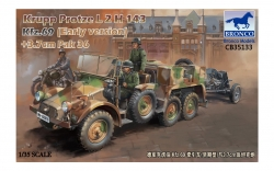35133         Krupp Protze L2 H 143 Kfz.69 (early version) with 3.7cm Pak 36