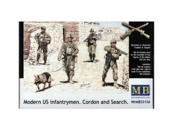 35154  Modern U.S. infantrymen. Cordon and Search