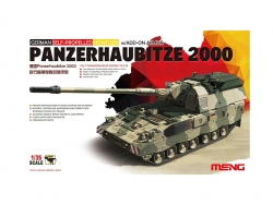 GERMAN PANZERHAUBITZE 2000 SELF-PROPELLED HOWITZER w/ADD-ON ARMOR