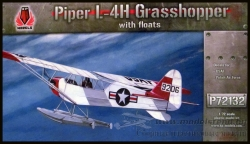 Piper L-4H Grasshopper with floats